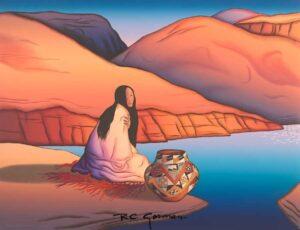 canyon-woman